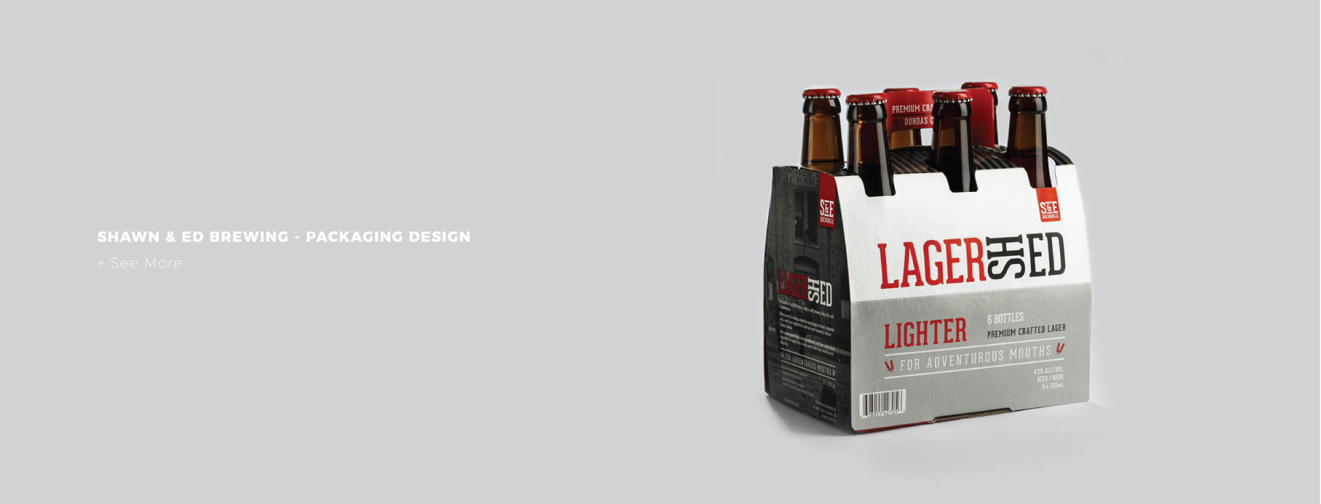 Shawn & Ed Brewing - Packaging Design